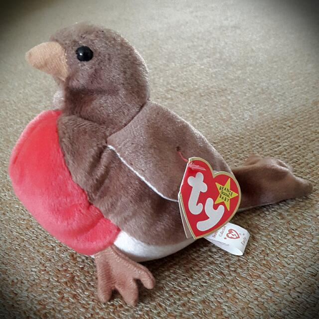 81c9e7114f7 Retired TY Beanie Baby - Early the Robin