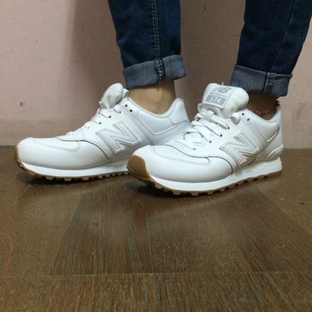 New Balance 574BAA白色 (待匯款