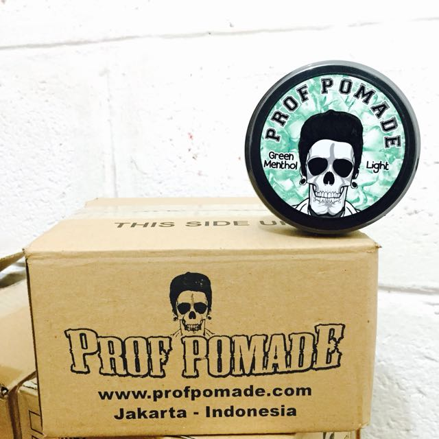 Pomade , Prof Pomade Green Menthol