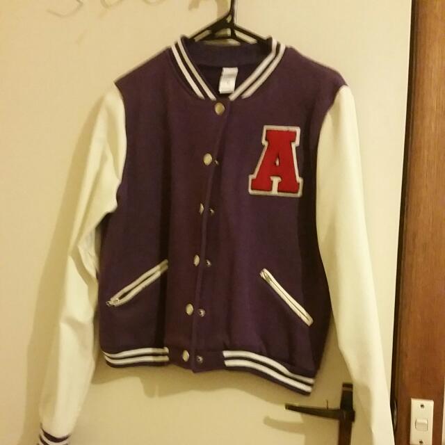 (PENDING) Purple Varsity Jacket