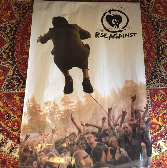 Rise Against A1 Poster
