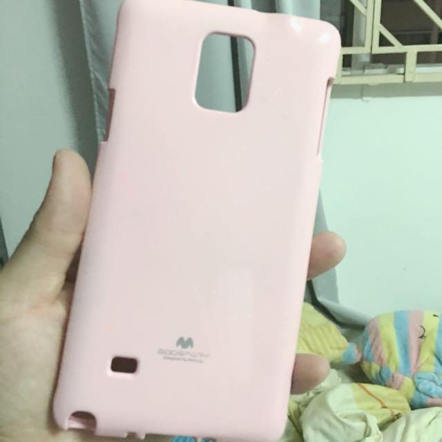 Samsung Note 4 Pink Goospery Back Cover (reserved)