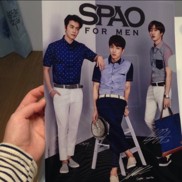 SPAO X Super Junior 資料夾