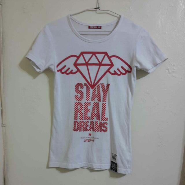 StayReal 一克拉的夢想 T恤