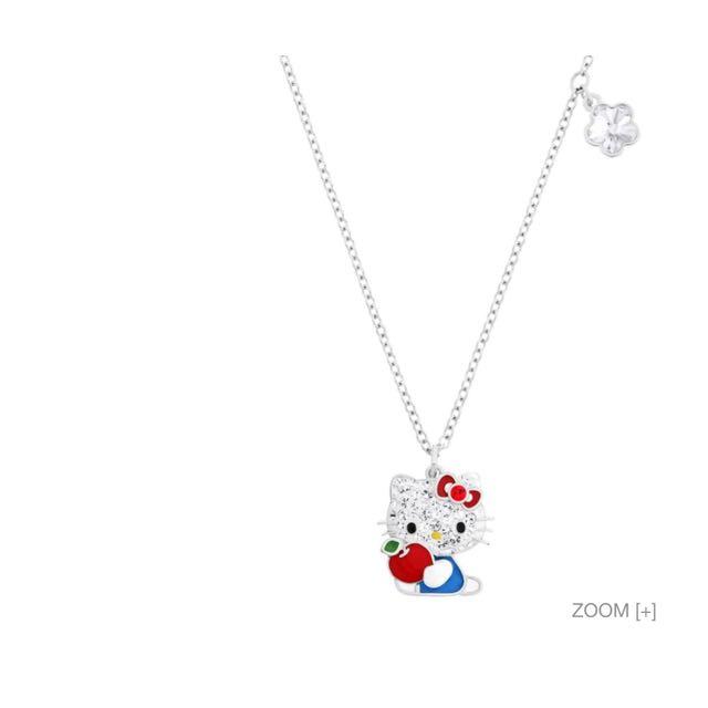 b8957a457 Swarovski Hello Kitty Red Apple Pendant - Pendant Design Ideas