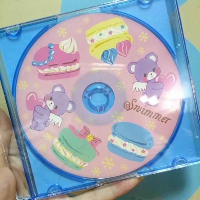 Swimmer空白光碟片