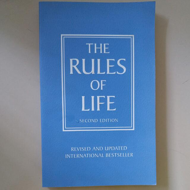 The Rules Of Life by Richard Templar