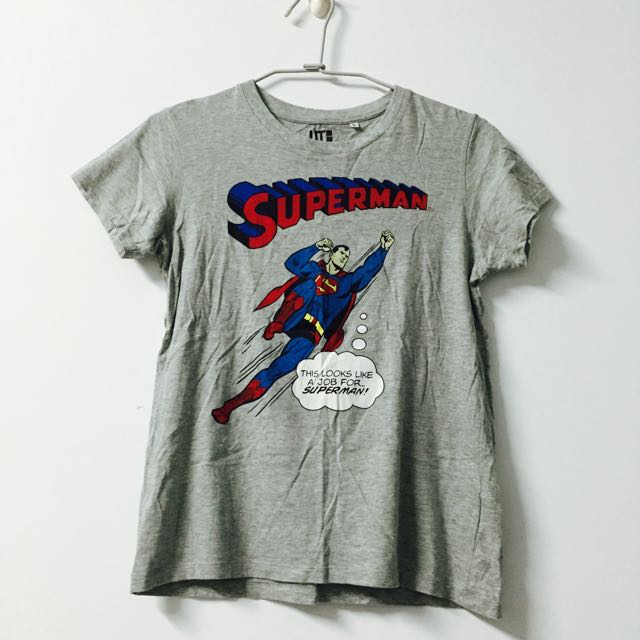 Uniqlo超人短袖