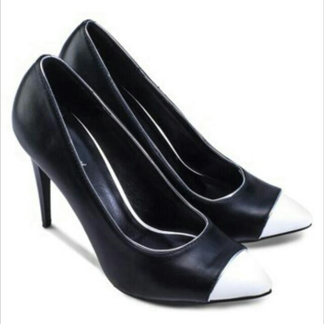 Zalora Colour Block Heels