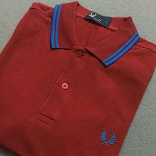 a2b453d12 Fred Perry Twin Tipping Polo Shirt