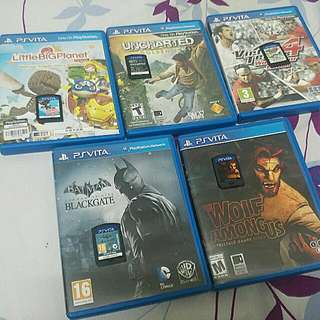 PS Vita Games [Secondhand]