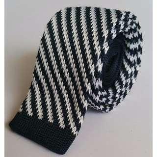 Blue Stripes Soft Knit Tie #Dirty30