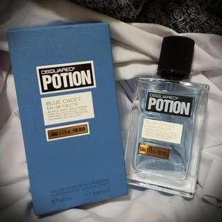 【全新】【DSQUARED2】POTION 紳藍 男性淡香水(50ML) 可當情人節禮物