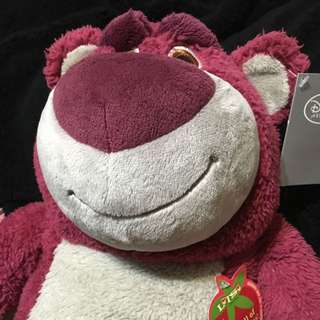 (全新)Disney Strawberry LOTSO 熊抱哥
