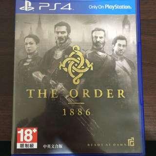 PS4 THE Order1886二手遊戲片中英文版