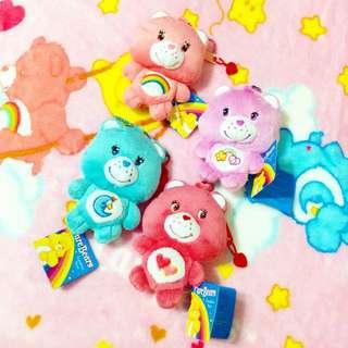 Care Bears可愛吊飾 彩虹熊