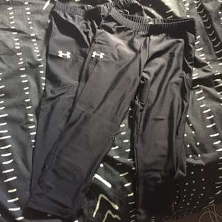 Compression tights (Under Armour)