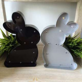 Marquee Light - Bunny / Pair of Kissing Bunnies