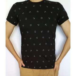 Anchor Print T Shirt