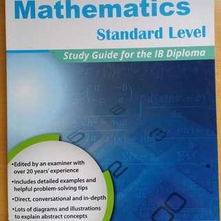 Maths SL study Guide