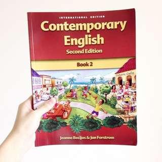 醒吾科技大學 四技部 英語聽講訓練 王春元 課本  Contemporary English Book 2