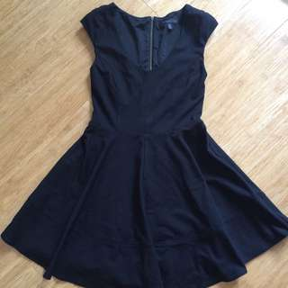 Forever New Black skater dress