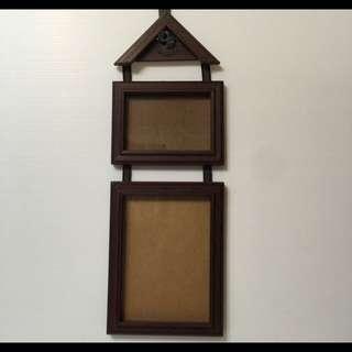 【全新】💞壁掛式雙層相框💞含運