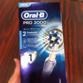 Brand New Oral B Pro2000 (Braun) For Sale (Not Open)