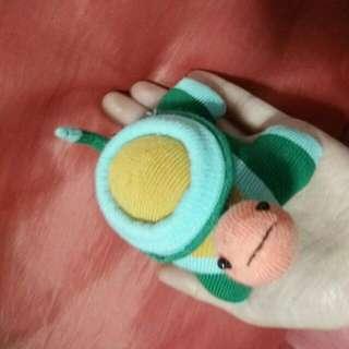 全新手作襪子娃娃
