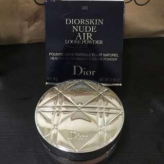 dior loose power 040