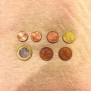 (保留中)歐元硬幣