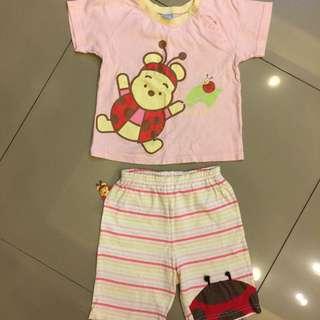 麗嬰房Disney維尼熊套裝