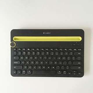 Logitech K480 Multi-device Bluetooth Keyboard