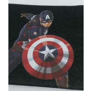 美國隊長 captain america 全家 英雄大有來頭 萬用隨身袋 鉛筆盒 小袋