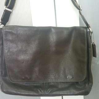 Coach Full Leather Sling Bag