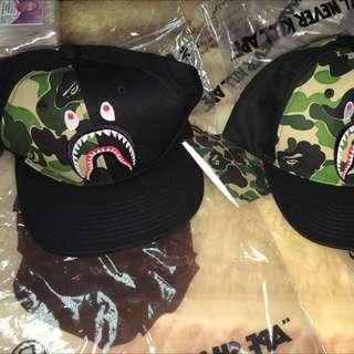 A BATHING APE 2015 ABC SHARK SNAPBACK CAP 鯊魚 後扣帽