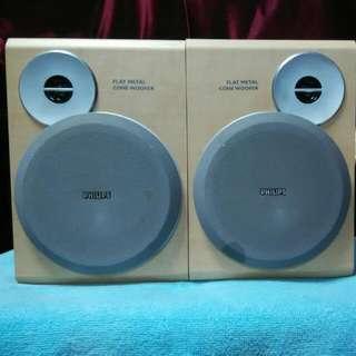 Philips Flat Metal Cone Speaker System