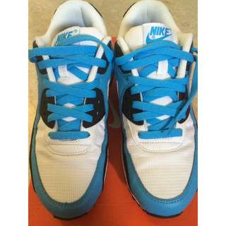 """Nike Air Max 90 Leather """"Vivid Blue 2008 release"""" (US Size 7 Men's)"""
