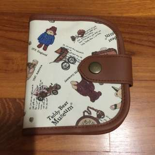 Brand New Teddy Bear Museum Wallet Purse