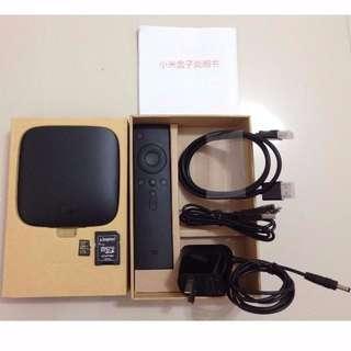 (Pending)XiaoMi Mi Box 3 Quad Core Android 4.4 Smart TV 4K HD Box