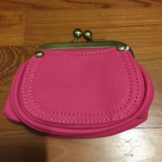 New Hot Pink Pouch