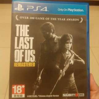 PS4-最後生還者❲中文❳👍歡迎換片