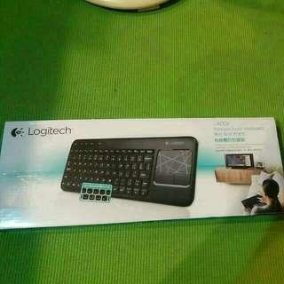 羅技Logitech無線觸控板鍵盤