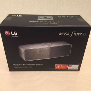 BNIB LG MUSIC FLOW PORTABLE BLUETOOTH SPEAKER