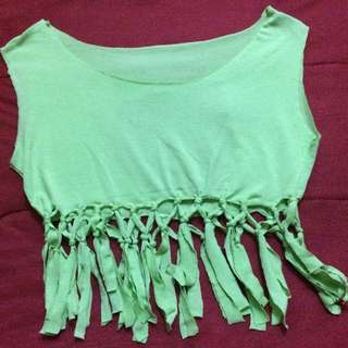 DIY Lacey Crop Top