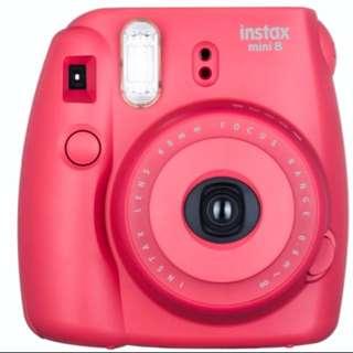 (已預訂) 全新 Fujifilm Instax mini8 野莓紅