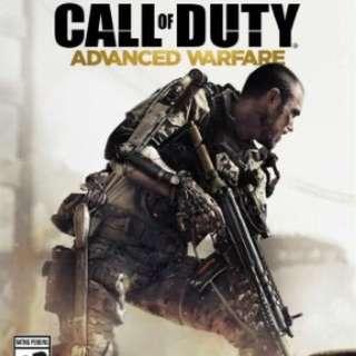 XBOX 360 使命召喚:高級戰爭 Call of Duty 美版 二手