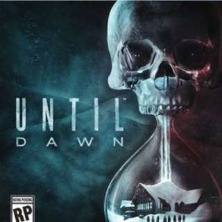 PS4 直到黎明 Until Dawn 中文 二手