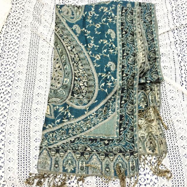 民族風圍巾