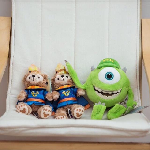 迪士尼購入🍭大眼仔玩偶。大眼仔鑰匙圈🍭